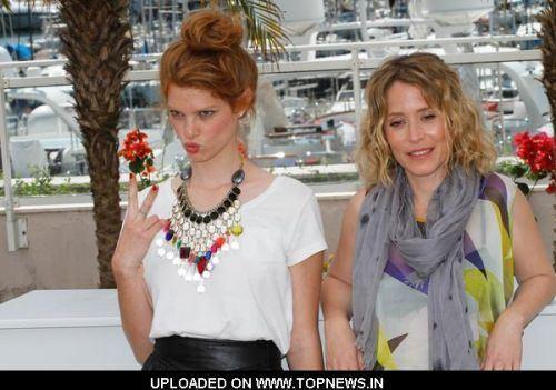 Alma Zack Alma Zack and Yuval Scharf at 64th Annual Cannes Film Festival