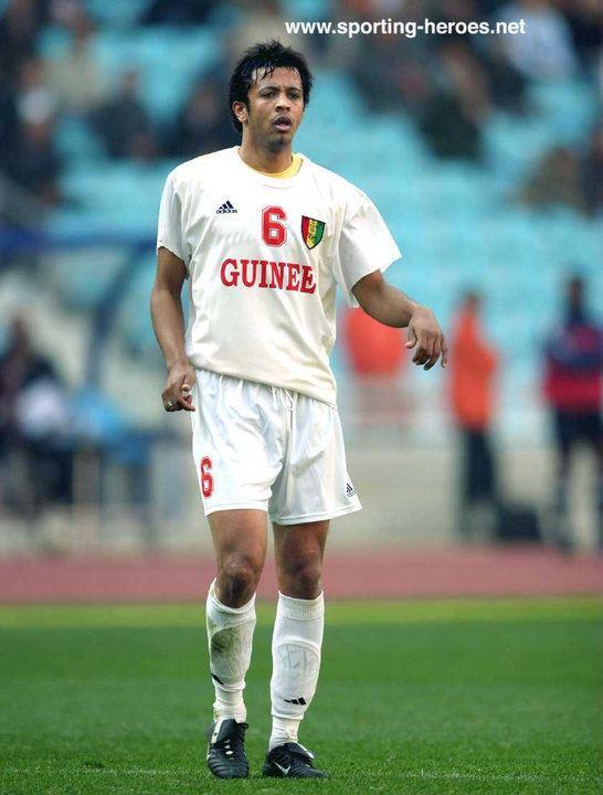 Almamy Schuman Bah Almamy Schuman Bah Coupe dAfrique des Nations 2004 Guinee
