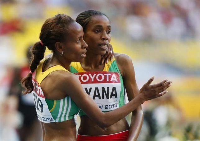 Almaz Ayana New Ethiopian star Ayana targets world record in Beijing