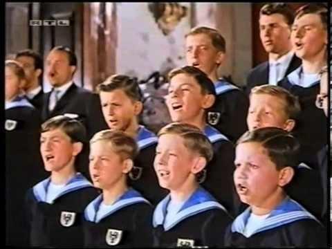 Almost Angels Vienna boys choir from film Almost Angels film 1962 Omnes de Saba