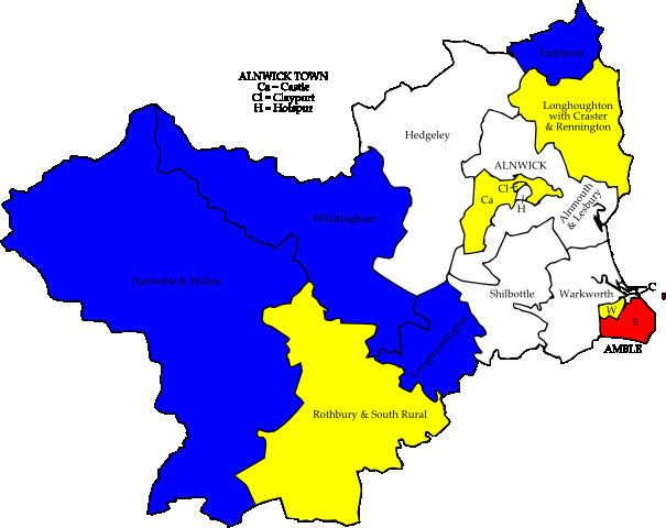 Alnwick District Council election, 2007