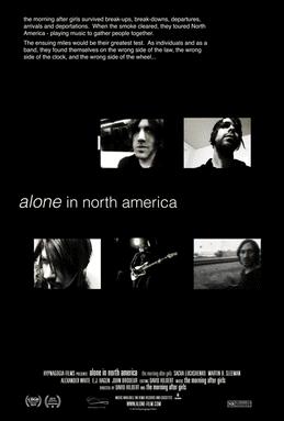 Alone In North America movie poster