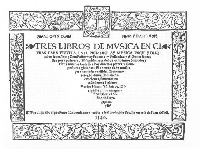 Alonso Mudarra Alonso Mudarra Sheet Music by Alonso Mudarra