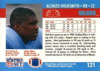 Alonzo Highsmith The Trading Card Database Alonzo Highsmith Gallery 1990