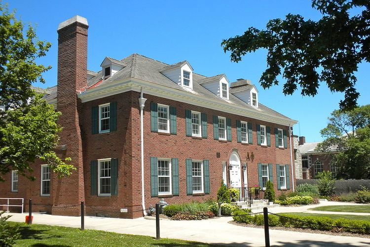 Alpha Phi Fraternity House-Beta Alpha Chapter (Champaign, Illinois)