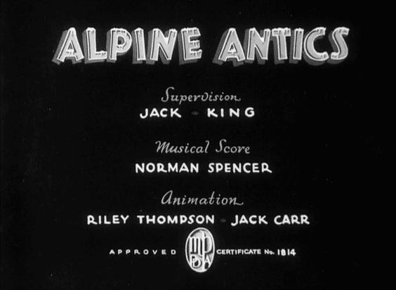 Alpine Antics (1936 film) movie scenes Alpine Antics 1936
