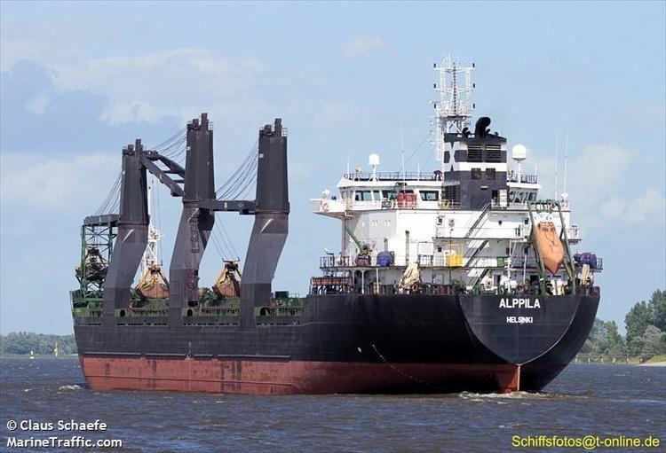 Alppila Vessel details for ALPPILA Bulk Carrier IMO 9381706 MMSI
