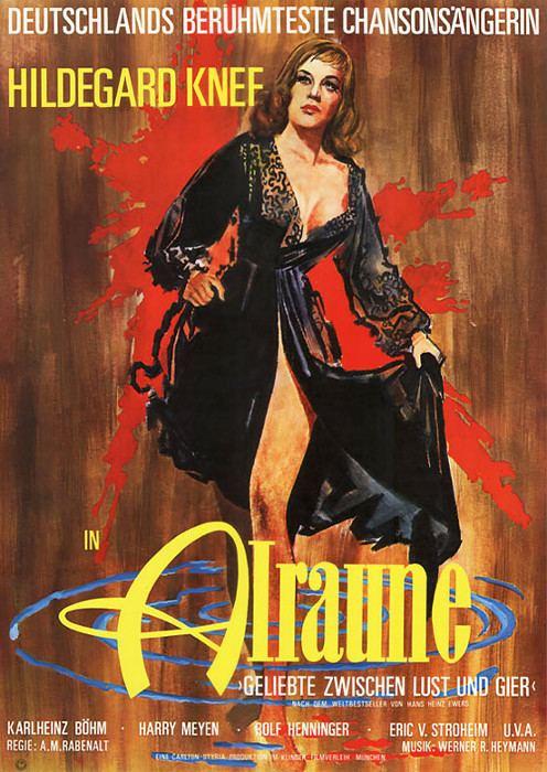 Alraune (1952 film) Filmplakat Alraune 1952 Plakat 3 von 3 FilmposterArchiv