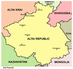 Altai Republic Wikipedia