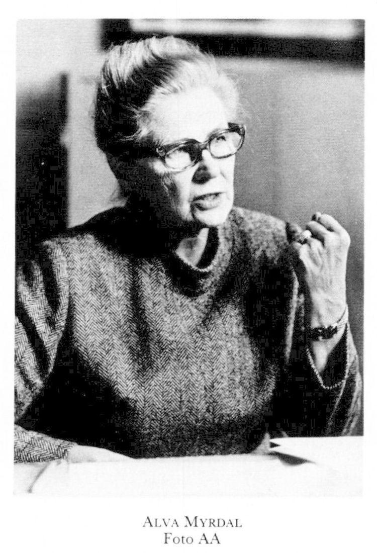 Alva Myrdal Alchetron The Free Social Encyclopedia
