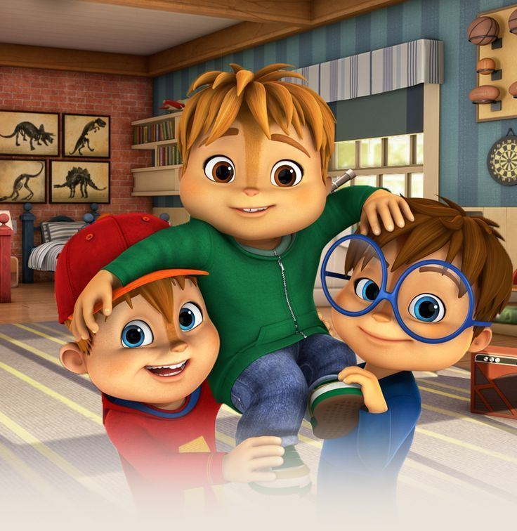 Alvin and the Chipmunks (2015 TV series) 1000 images about Alvin and the Chipmunks Chipetts on Pinterest