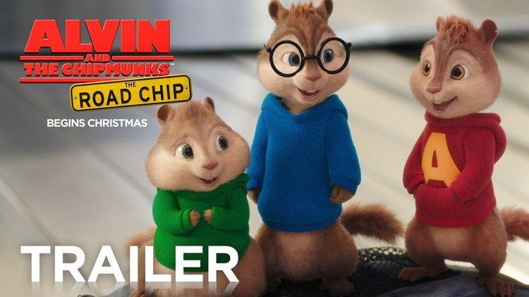 Alvin and the Chipmunks Alvin and the Chipmunks The Road Chip Official Trailer 2 HD
