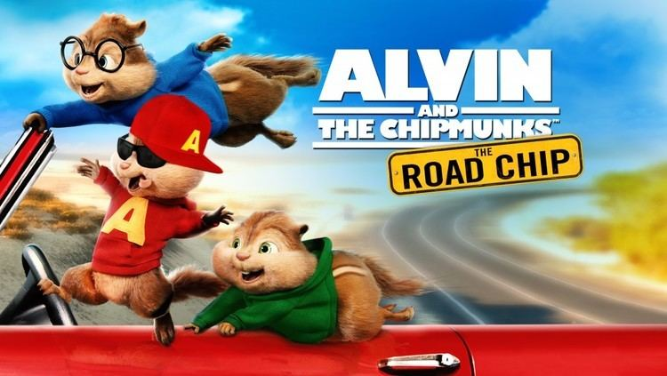 Alvin and the Chipmunks: The Road Chip Enter to Win Alvin And The Chipmunks The Road Chip on DVD Art