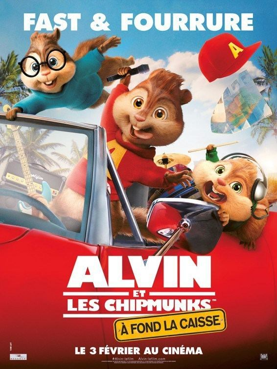 Alvin and the Chipmunks: The Road Chip Alvin and the Chipmunks 4 Teaser Trailer