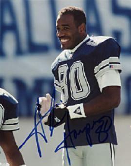 Alvin Harper Alvin Harper Memorabilia Autographed Signed