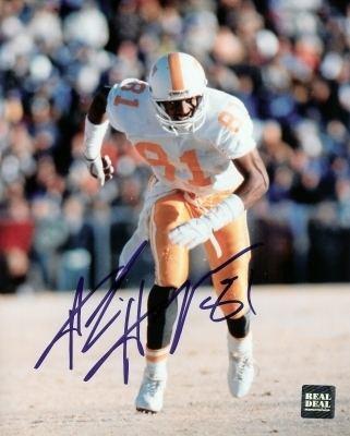 Alvin Harper University of Tennessee Vols Autographed Alvin Harper Photo