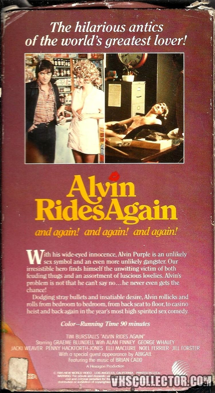 Alvin Rides Again Alvin Rides Again VHSCollectorcom Your Analog Videotape Archive