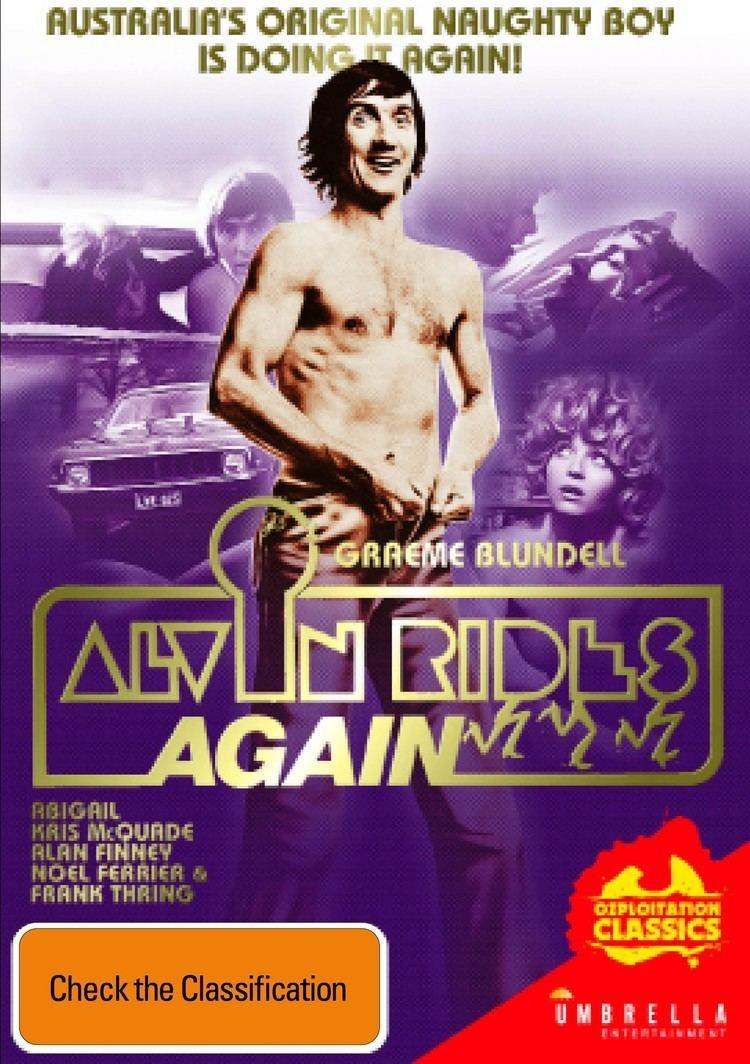Alvin Rides Again ALVIN RIDES AGAIN OZPLOITATION CLASSICS Buy DVD BluRay from