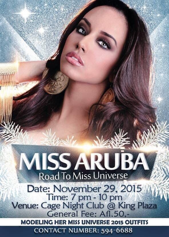 Alysha Boekhoudt ZOOMARUBACOM your social network Miss Aruba Universe 2015 Alysha