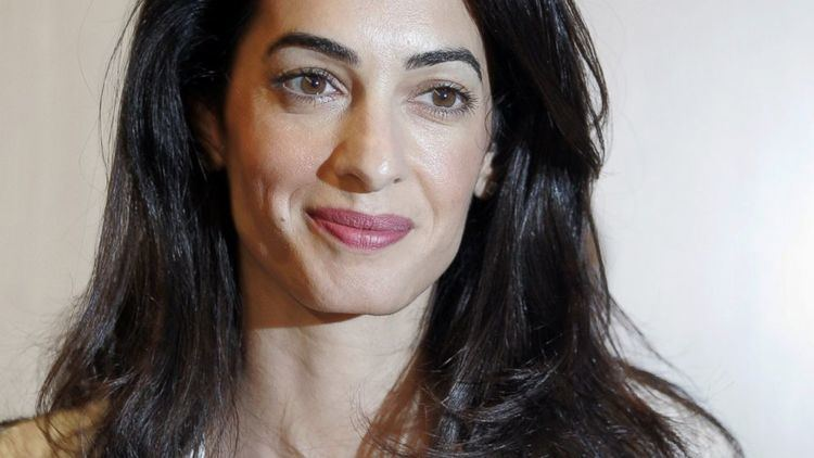 Amal Clooney Amal Clooney News Photos and Videos ABC News