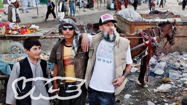 Aman Mojadidi Aman Mojadidi the Artist Who Merges Bling and Jihadi Terrorism