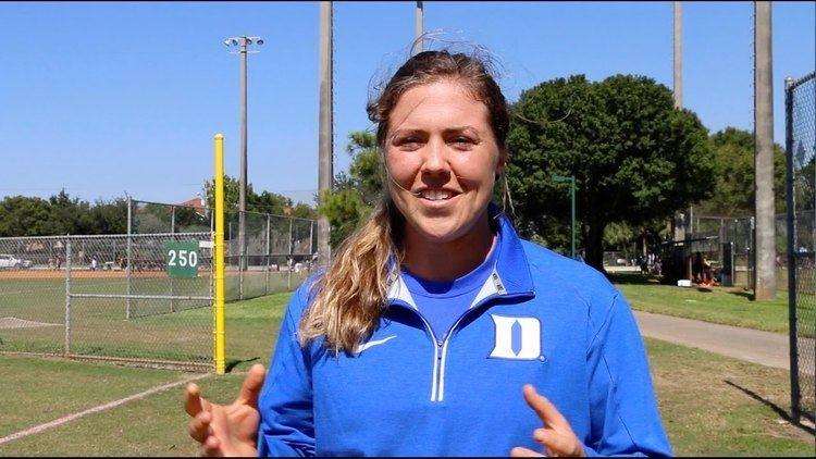 Amanda Chidester Amanda Chidester Gives the Latest Updates on Duke Softball YouTube