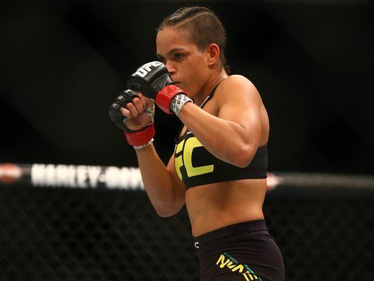 Amanda Nunes UFC champion Amanda Nunes credits relationship for making her better