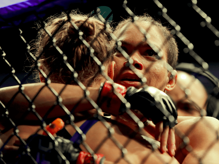 Amanda Nunes Ronda Rousey loses comeback fight 48 seconds Business Insider