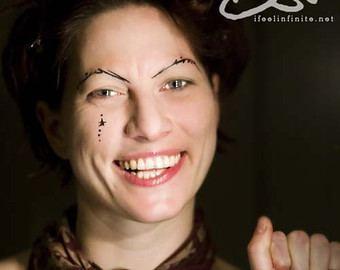 Amanda Palmer Palmer Smiling Fine Art Portrait 8x10 Print
