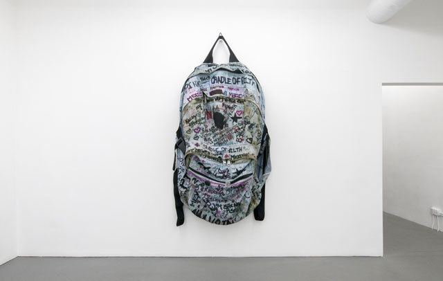 Amanda Ross-Ho What a Teenager39s Backpack Tells Us About Art