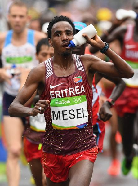 Amanuel Mesel Amanuel Mesel in Athletics Marathon Olympics Day 16 Zimbio