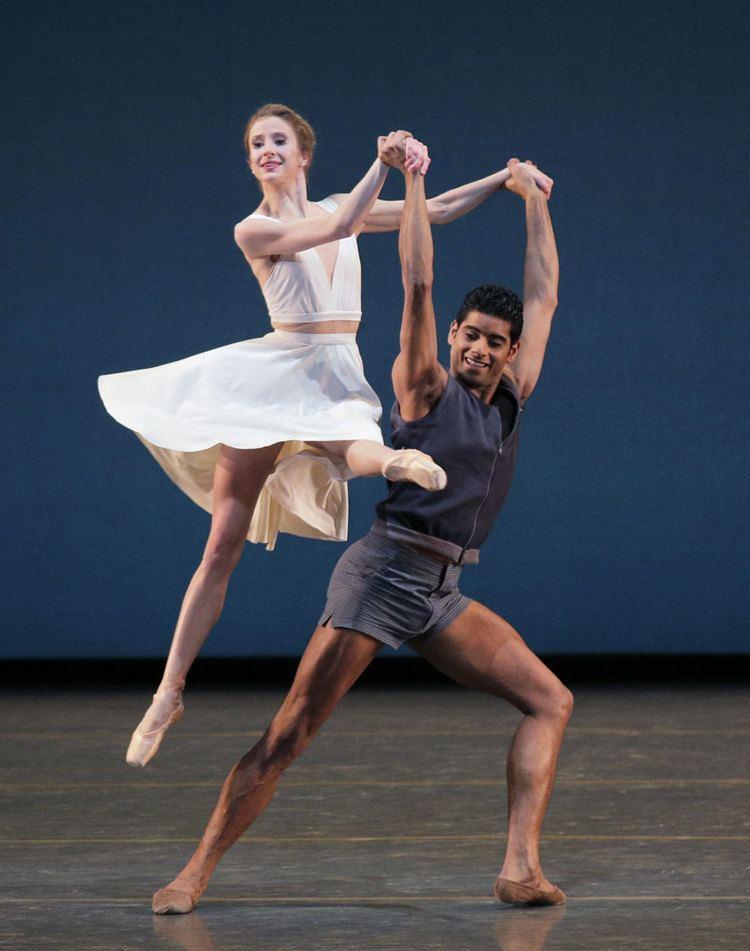 Amar Ramasar New York City Ballet Paz de la Jolla premiere and bill