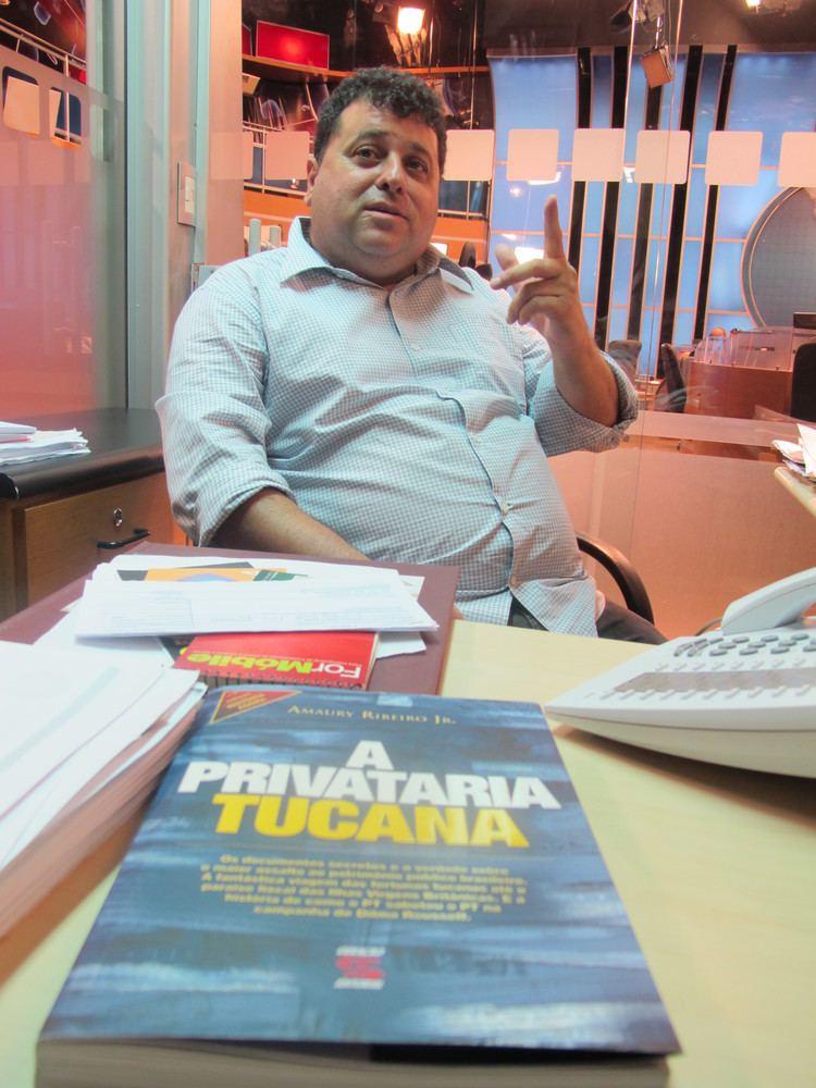 Amaury Ribeiro Jr. Amaury Ribeiro Jr Quem o Doutor Escuta Viomundo O