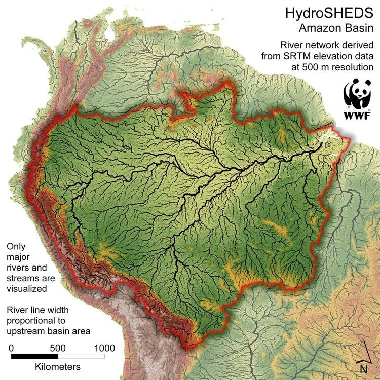 Amazon basin About the Amazon WWF