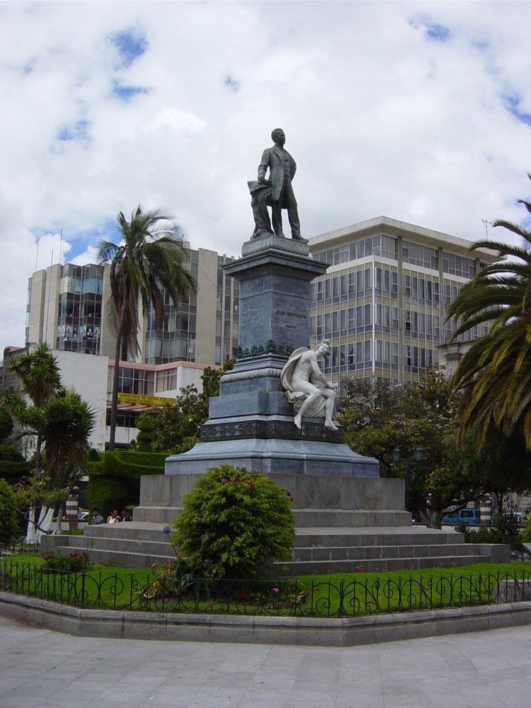 Ambato, Ecuador in the past, History of Ambato, Ecuador