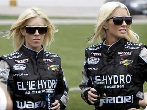 Amber Cope Kevin Harvick blames fans rip Amber Cope
