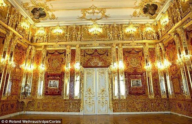 Amber Room Nazi looted treasure may be hidden behind sealed wall in an