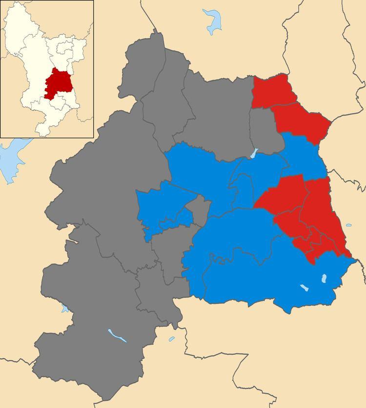 Amber Valley Borough Council election, 2004