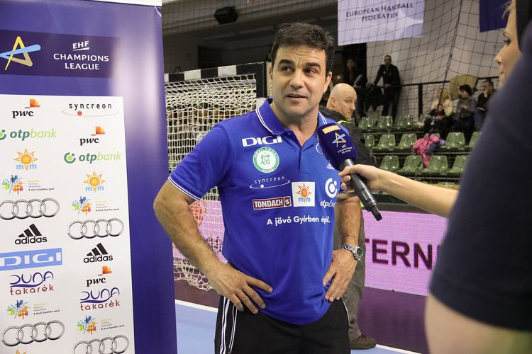 Ambros Martín Ambros Martin is partially satisfied with his team39s play Timeout
