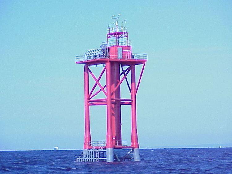 Ambrose Light New Jersey Lighthouse Society Ambrose Lightstation