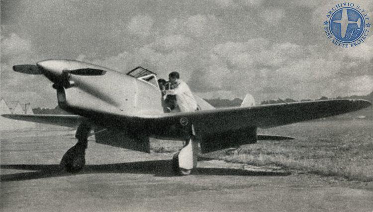 Ambrosini S.7 Ambrosini S7 in the Air S7 Project