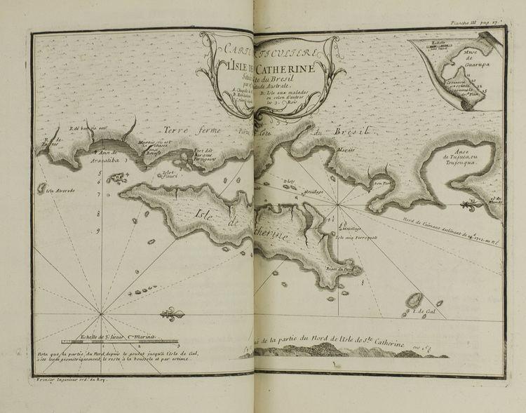 Amédée-François Frézier FREZIER Amde Franois Relation du voyage de la mer du sud aux