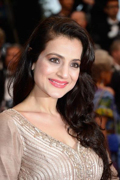 Ameesha Patel Ameesha Patel amp Puja Gupta at the Cannes screening of 39All
