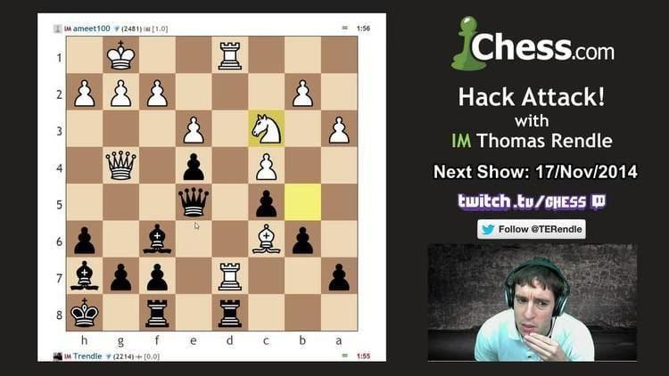 Ameet Ghasi Hack Attack 39 Thomas Rendle vs Ameet Ghasi YouTube
