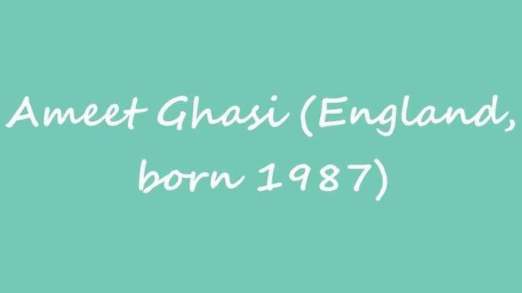 Ameet Ghasi OBM Chess Player Ameet Ghasi England born 1987 YouTube