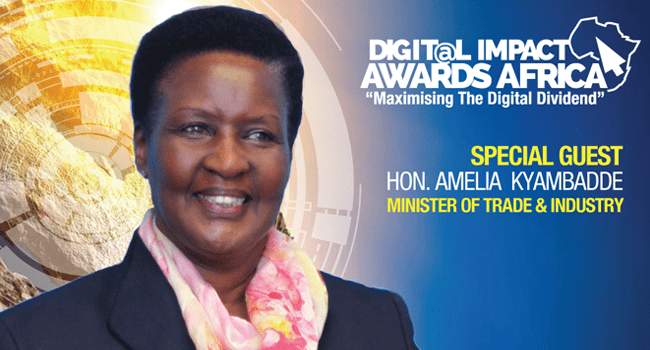 Amelia Kyambadde Hon Amelia Kyambadde will be special guest at the 2nd Digital Impact