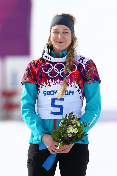 Amelie Kober Amelie Kober Pictures Snowboard Winter Olympics Day 15
