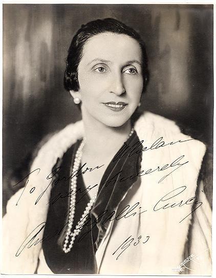 Amelita Galli-Curci Amelita GalliCurci operatic coloratura soprano