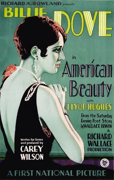 American Beauty (1927 film) American Beauty 1927 Notice the typo Movie Poster Pinterest