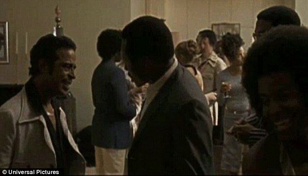 American Gangster (film) movie scenes Party scene Rouse is shown in a scene from the 2007 Ridley Scott film American